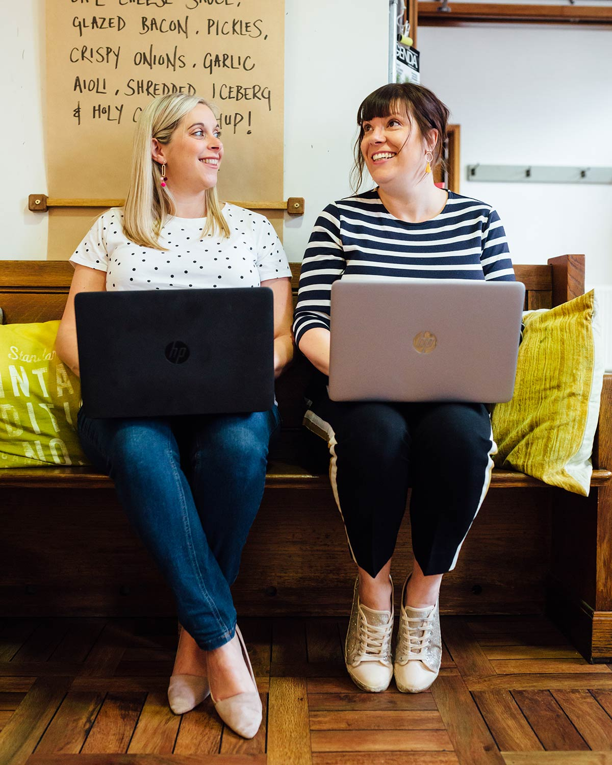 Sparke Club was founded in 2018 by Emma Clarke and Hayley Spencer. Together we have over 35 years experience working with products, development, branding and marketing. We've worked for big companies and small, mainly specialising in food. We have worked on products that have been sold in some pretty famous high street stores, in supermarkets, online and some of our fantastic products have even made the trip internationally. We love love love all things new. New products, New stores, New service, New everything and we're always on the lookout for new ways of doing things. Especially ways that challenge the status quo (Nothing like a bit of boat rocking) and we never settle for doing things how they've always been done, just because thats how its always been.
